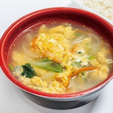 野菜スープ(小)*写真は玉子スープの例です。